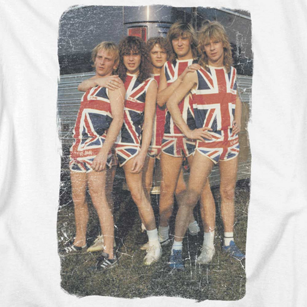 DEF LEPPARD Impressive T-Shirt, Group Photo