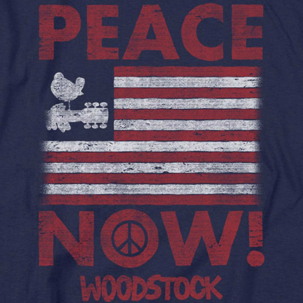 WOODSTOCK Deluxe Infant Snapsuit, Peace Now
