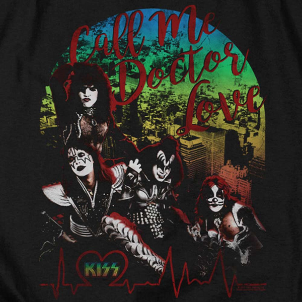 KISS Deluxe Sweatshirt, Doctor Love