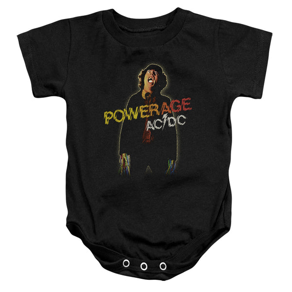 AC/DC Deluxe Infant Snapsuit, Powerage