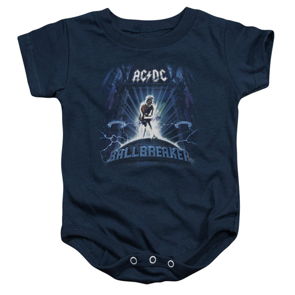 AC/DC Deluxe Infant Snapsuit, Ballbreaker