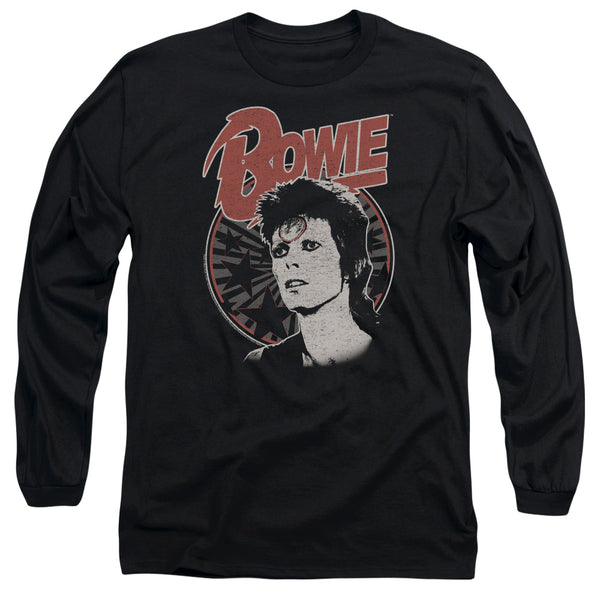 DAVID BOWIE Impressive Long Sleeve T-Shirt, Space Oddity