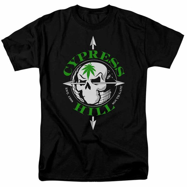 CYPRESS HILL Impressive T-Shirt, Skull and Arrows