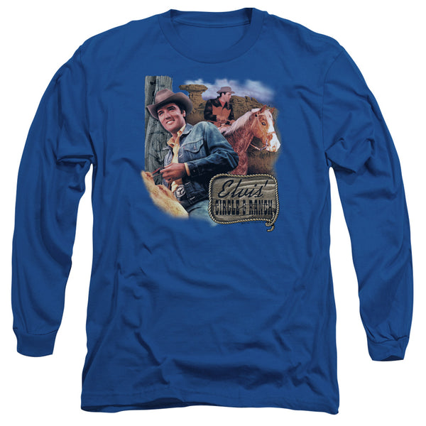 ELVIS PRESLEY Impressive Long Sleeve T-Shirt, Ranch