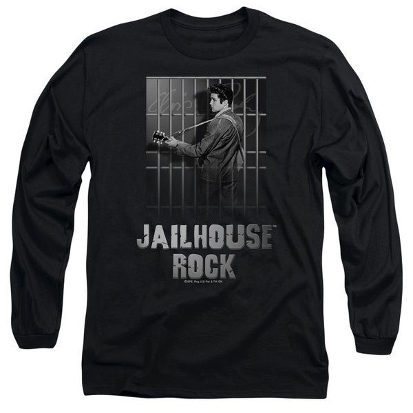 ELVIS PRESLEY Impressive Long Sleeve T-Shirt, Jailhouse Rock
