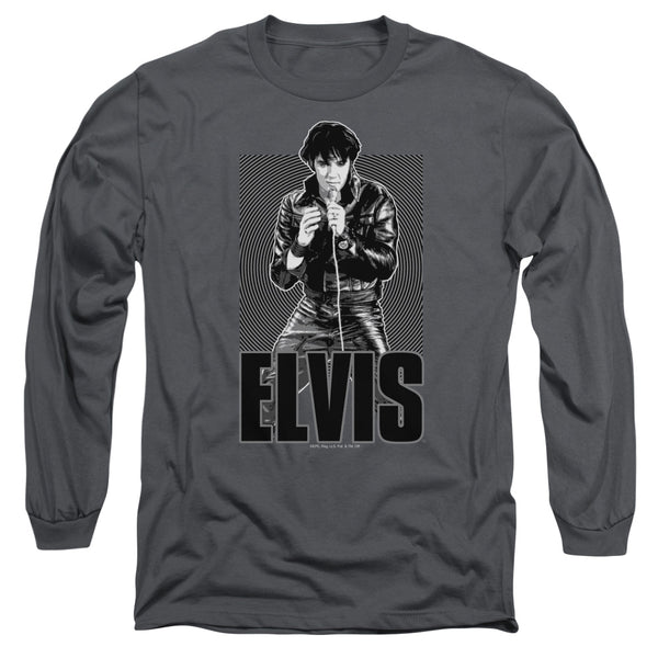 ELVIS PRESLEY Impressive Long Sleeve T-Shirt, Leathered