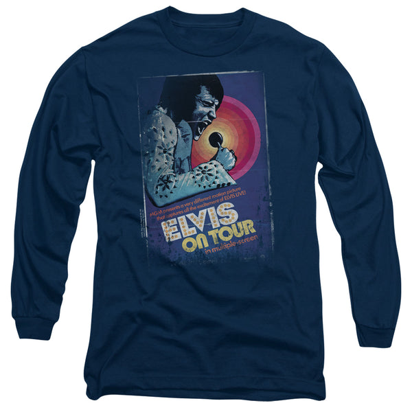 ELVIS PRESLEY Impressive Long Sleeve T-Shirt, On Tour
