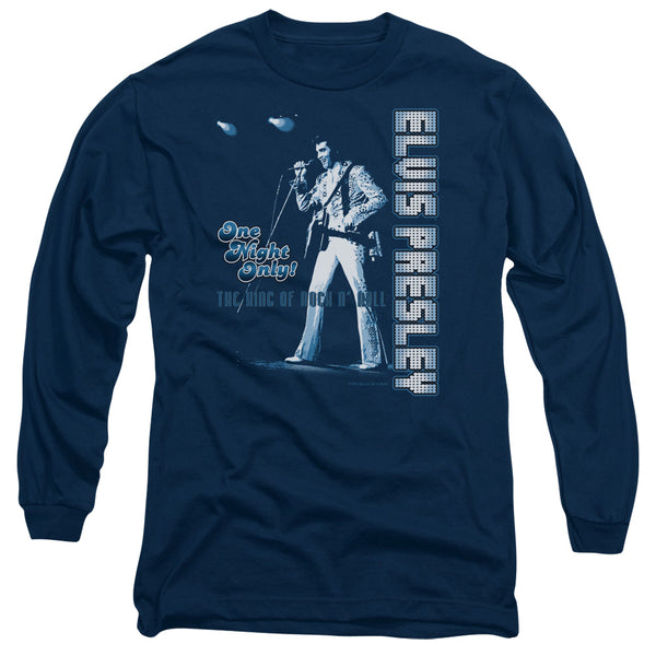 ELVIS PRESLEY Impressive Long Sleeve T-Shirt, One Night Only