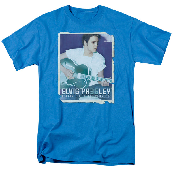 ELVIS PRESLEY Impressive T-Shirt, 35th Anniversary with Guitar