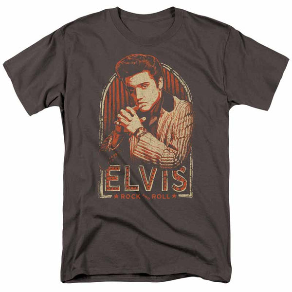 ELVIS PRESLEY Impressive T-Shirt, Stripes