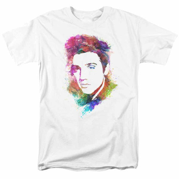 ELVIS PRESLEY Impressive T-Shirt, Watercolor King
