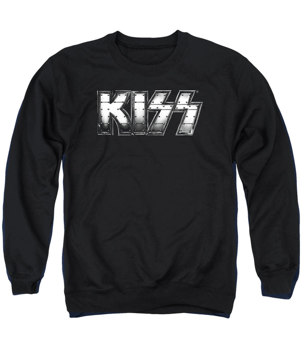 KISS Deluxe Sweatshirt, Heavy Metal Logo