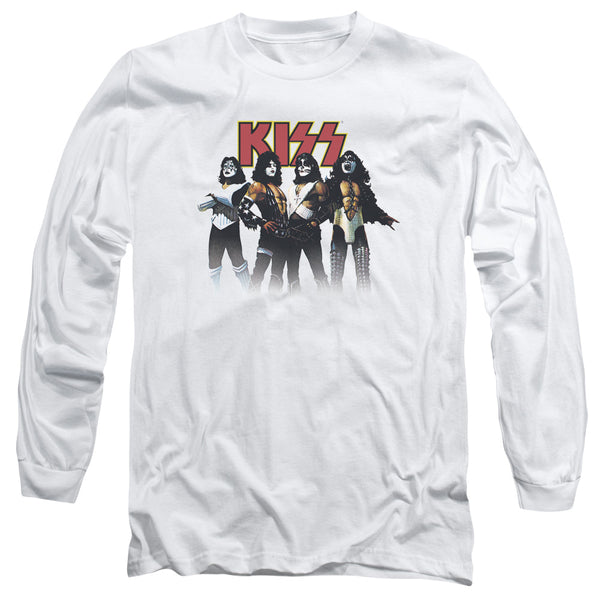 KISS Impressive Long Sleeve T-Shirt, Throwback Pose