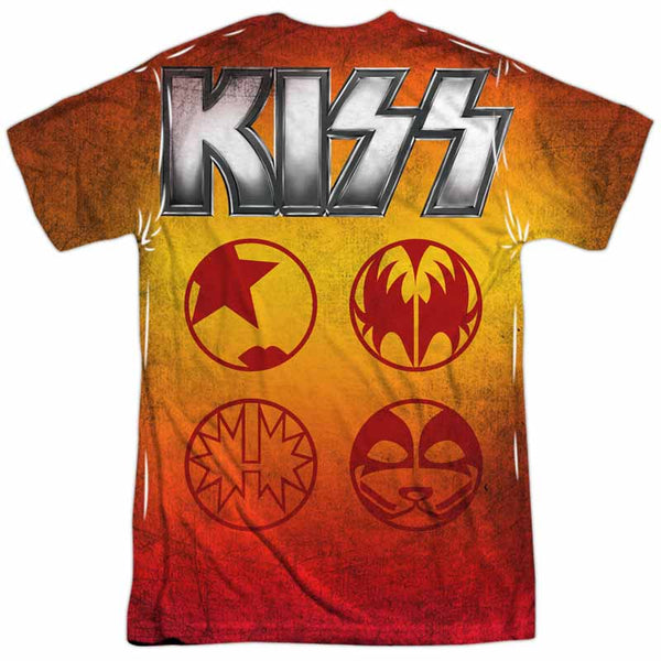 KISS Outstanding T-Shirt, Band Pose