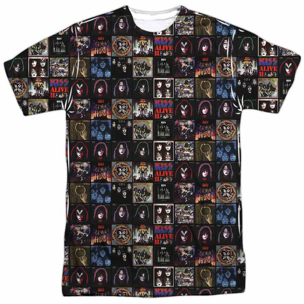 KISS Outstanding T-Shirt, Album Covers