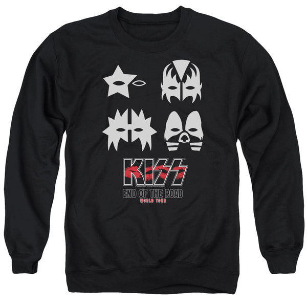 KISS Deluxe Sweatshirt, End of The Road