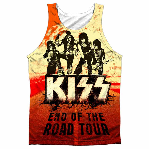 KISS High Class Tank Top, End Of The Road