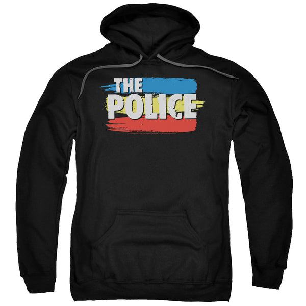 Premium THE POLICE Hoodie, Stripes Logo