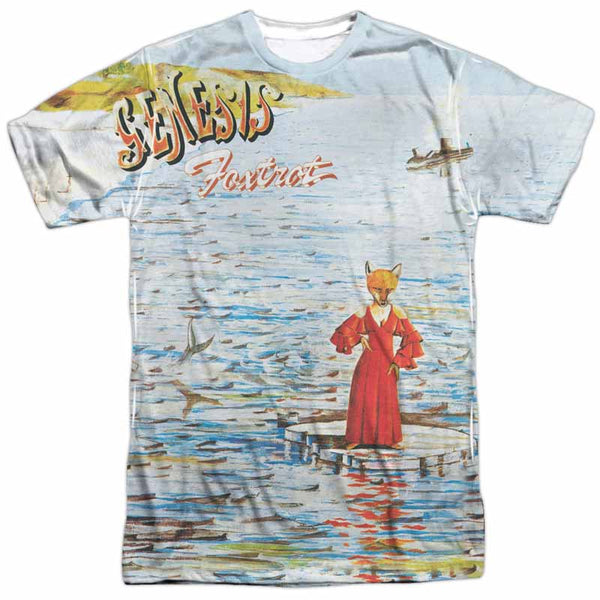 GENESIS Outstanding T-Shirt, Foxtrot Album Cover
