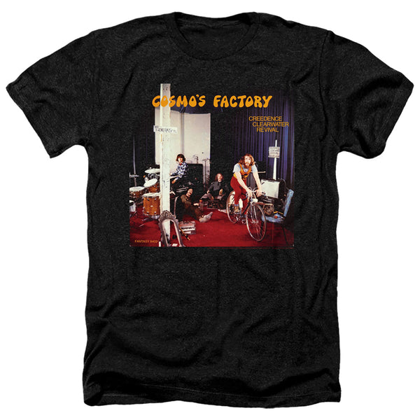 CREEDENCE CLEARWATER REVIVAL Deluxe T-Shirt, Cosmos Factory