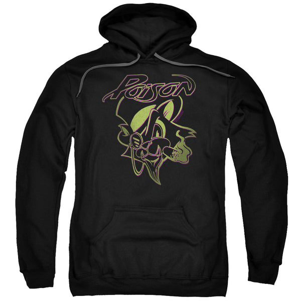 Premium POISON Hoodie, Smoking Cat