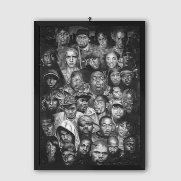 RAP GODS Gorgeous Poster (Unframed)