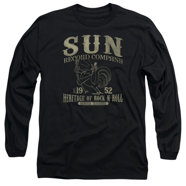 SUN RECORDS Impressive Long Sleeve T-Shirt, Rockabilly Bird