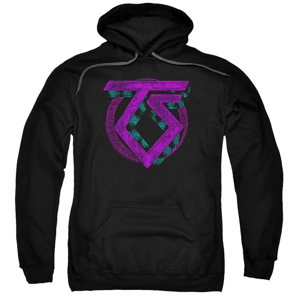TWISTED SISTER Impressive Hoodie, Distressed Logo