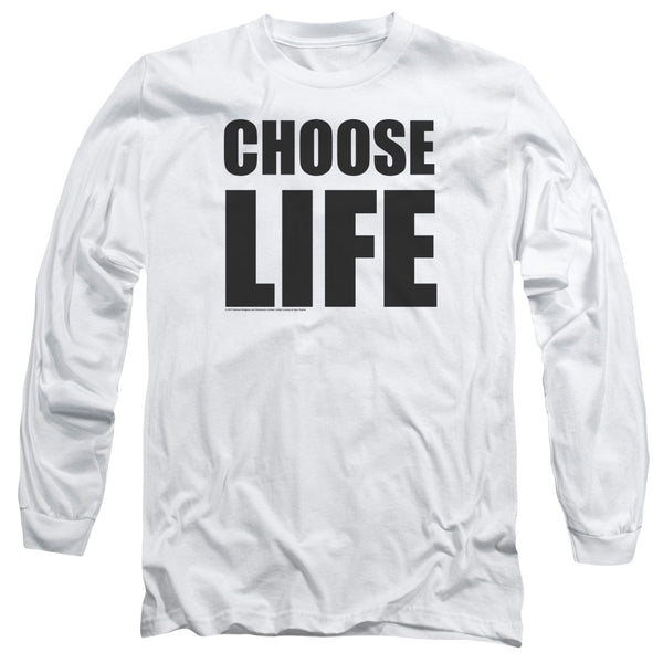 WHAM! Impressive Long Sleeve T-Shirt, Choose Life