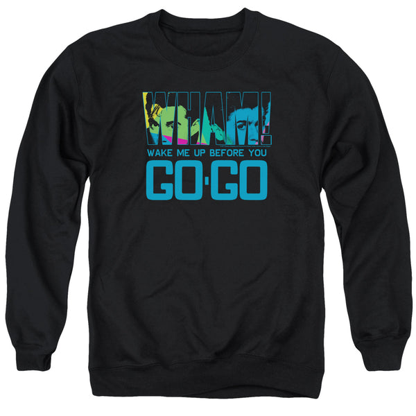 WHAM! Deluxe Sweatshirt, Wake Me Up Before You Go Go