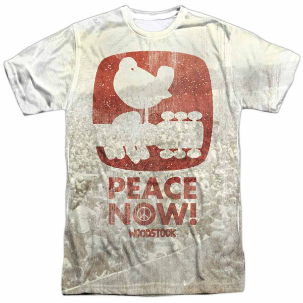 WOODSTOCK Outstanding T-Shirt, Peace Now