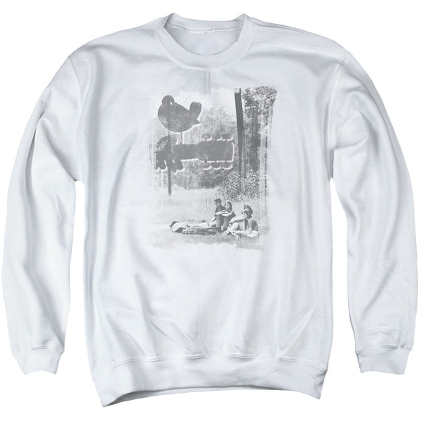 WOODSTOCK Deluxe Sweatshirt, Hippies in a Field