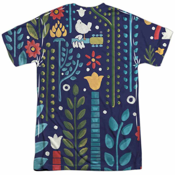 WOODSTOCK Outstanding T-Shirt, Floral