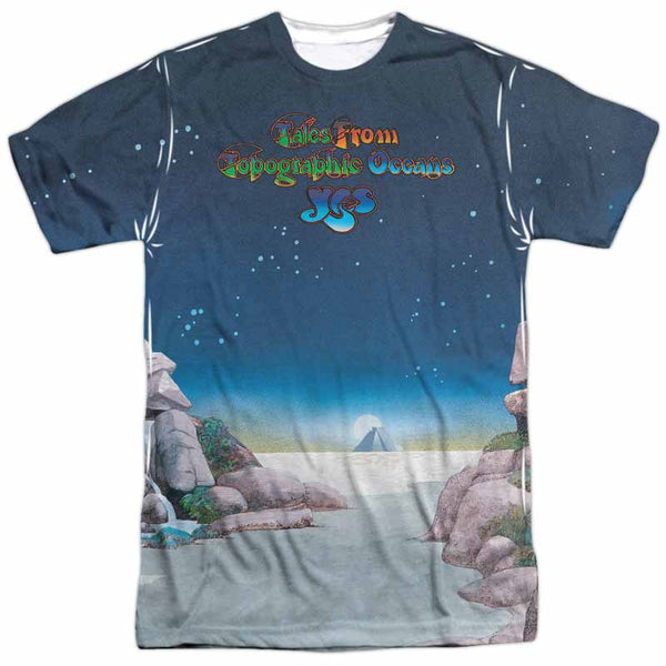 YES Outstanding T-Shirt, Tales from Topographic Oceans