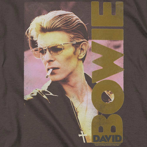 DAVID BOWIE Deluxe Sweatshirt, Smokin