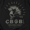 CBGB Impressive Long Sleeve T-Shirt, Electric Skull