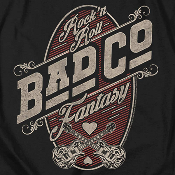 BAD COMPANY Impressive Long Sleeve T-Shirt, Rock 'n' Roll Fantasy