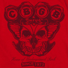 CBGB Impressive Long Sleeve T-Shirt, Moth Skull
