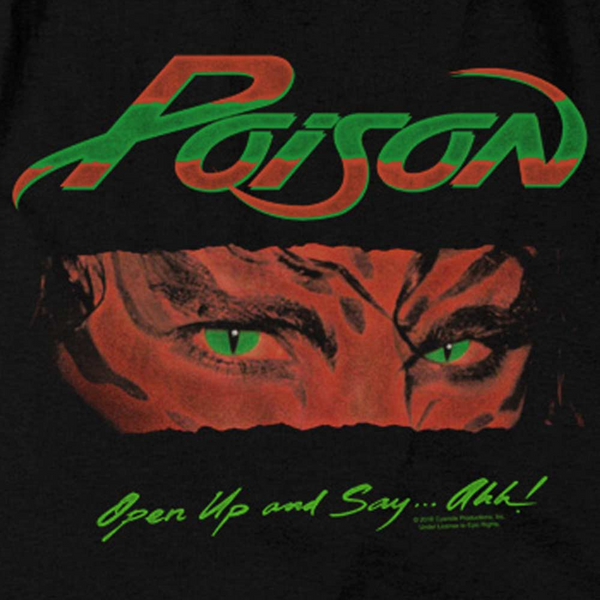 POISON Impressive T-Shirt, Open Up and Say
