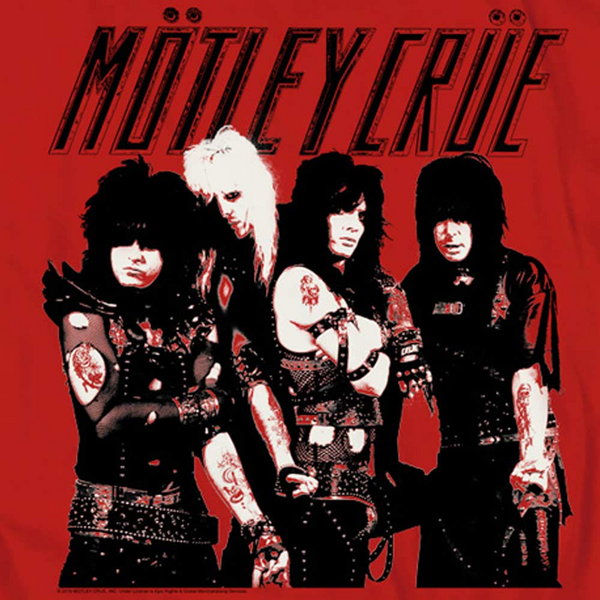 MOTLEY CRUE Impressive Hoodie, Group Photo