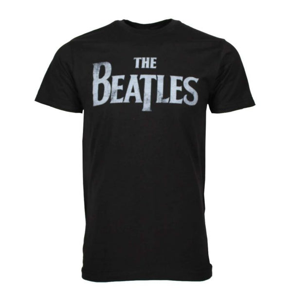 THE BEATLES Elite T-Shirt, Distressed Logo