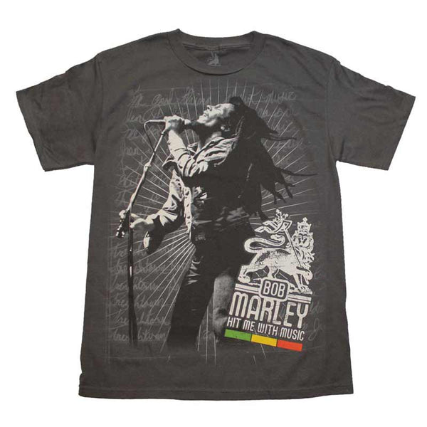 BOB MARLEY Elite T-Shirt, Hit Me With Music