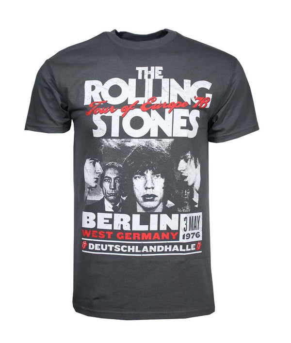 ROLLING STONES Top Notch T-Shirt, Europe 1976 Tour