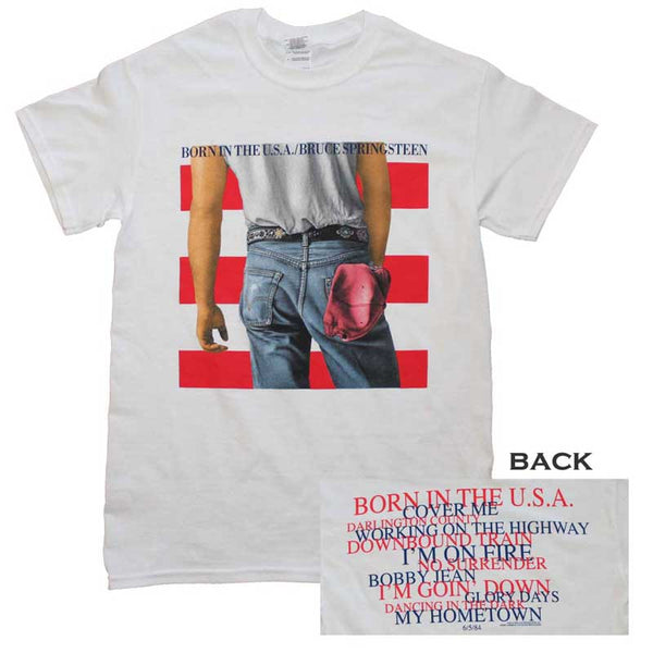 BRUCE SPRINSTEEN Top Notch T-Shirt, Born In The U.S.A