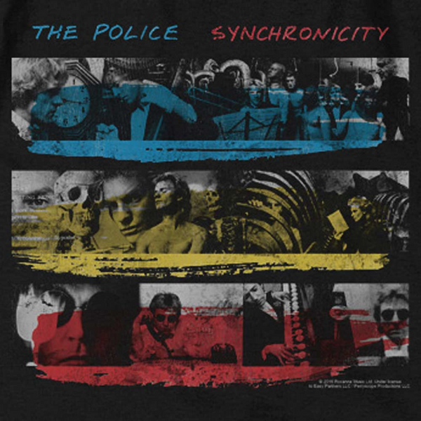 THE POLICE Impressive T-Shirt, Synchronicity