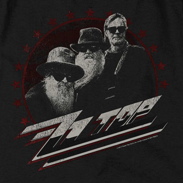 ZZ TOP Impressive Long Sleeve T-Shirt, The Boys