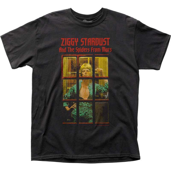 DAVID BOWIE Top Notch T-Shirt, Ziggy Phonebooth