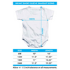 WOODSTOCK Deluxe Infant Snapsuit, White Lake