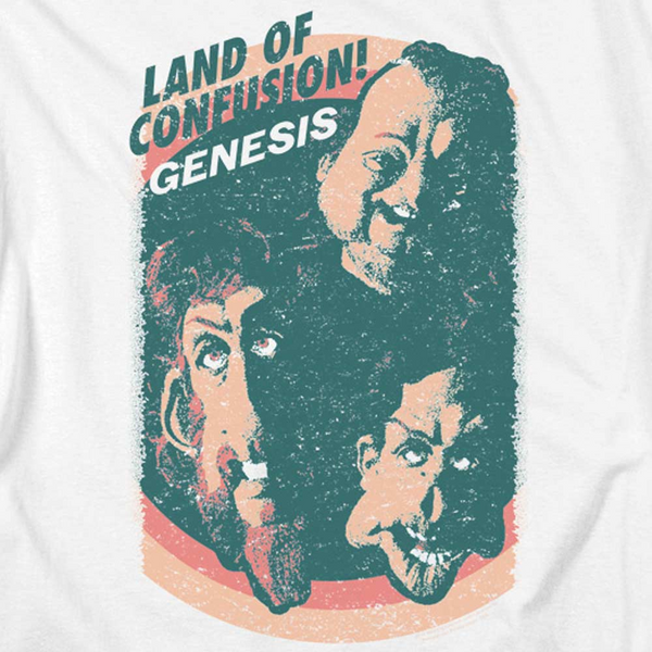GENESIS Impressive Tank Top, Land of Confusion