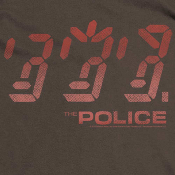 THE POLICE Deluxe Sweatshirt, Ghost in the Machine